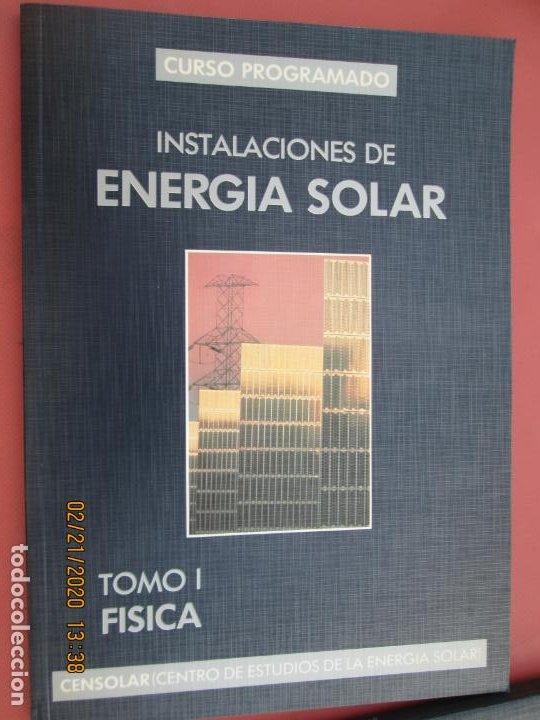 Libros de segunda mano: CURSO PROGRAMADO COMPLETO DE INSTALACIONES ENERGIA SOLAR 6 TOMOS - tercera edicion 2004 - Foto 7 - 194899012
