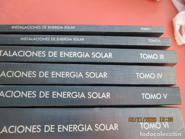 Libros de segunda mano: CURSO PROGRAMADO COMPLETO DE INSTALACIONES ENERGIA SOLAR 6 TOMOS - tercera edicion 2004 - Foto 8 - 194899012