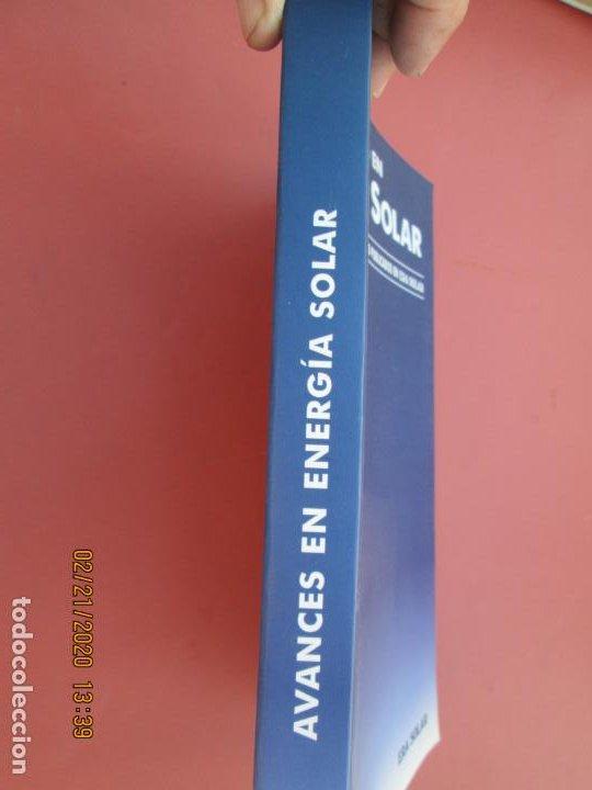 Libros de segunda mano: AVANCES EN ENERGIA SOLAR , RECOPILACION DE ARTICULOS TECNICOS PUBLICADOS EN ERA SOLAR- 1998 - Foto 5 - 194899272