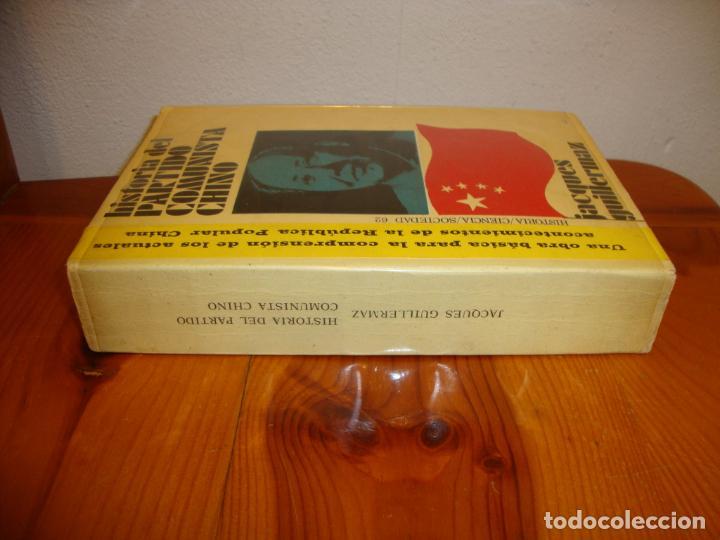 Libros de segunda mano: HISTORIA DEL PARTIDO COMUNISTA CHINO - JACQUES GUILLERMAZ - PENÍNSULA, MUY BUEN ESTADO - Foto 2 - 194900237