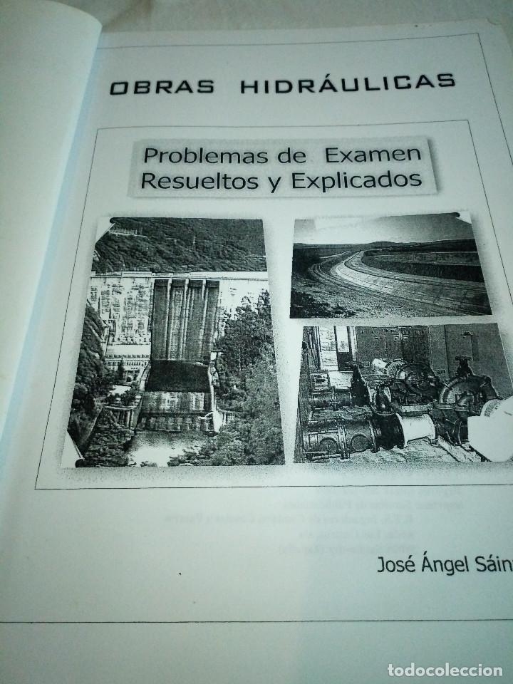 Libros de segunda mano: 9-OBRAS HIDRAULICAS, problemas de examen resueltos y explicados, Jose A. Sainz Borda, - Foto 3 - 194900273
