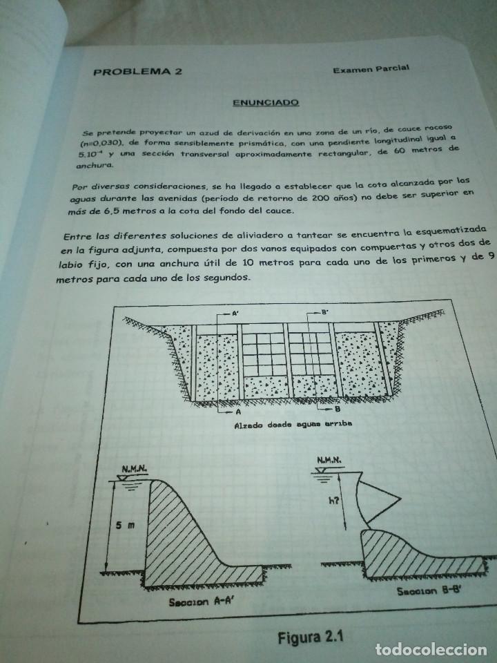 Libros de segunda mano: 9-OBRAS HIDRAULICAS, problemas de examen resueltos y explicados, Jose A. Sainz Borda, - Foto 6 - 194900273