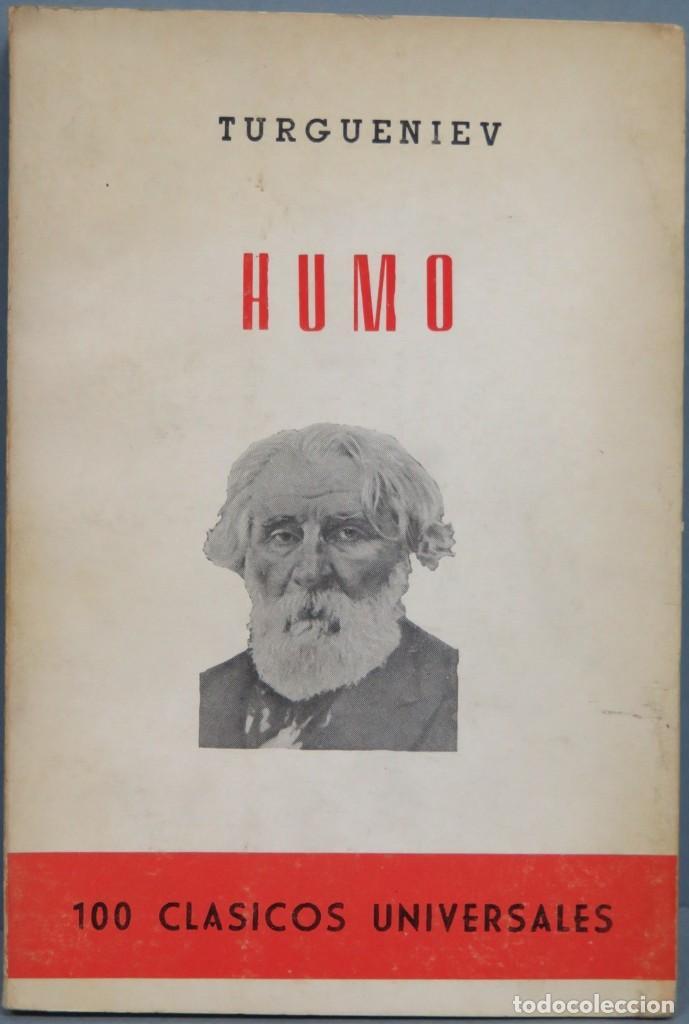 HUMO. TURGUENIEV (Libros de Segunda Mano (posteriores a 1936) - Literatura - Otros)