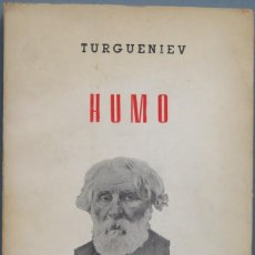 Libros de segunda mano: HUMO. TURGUENIEV. Lote 194900397