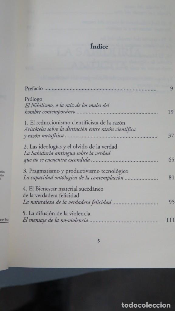 Libros de segunda mano: LA SABIDURIA ANTIGUA. REALE - Foto 2 - 194901037