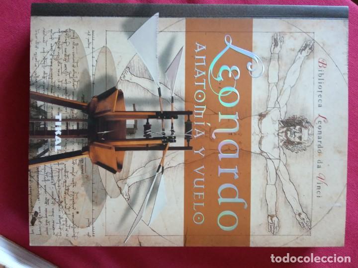 Libros de segunda mano: LOS ROBOTS DE LEONARDO/ANATOMIA Y VUELO.BIBLIOTECA LEONARDO DA VINCI.2 TOMOS. - Foto 4 - 194901206
