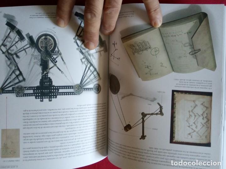 Libros de segunda mano: LOS ROBOTS DE LEONARDO/ANATOMIA Y VUELO.BIBLIOTECA LEONARDO DA VINCI.2 TOMOS. - Foto 9 - 194901206