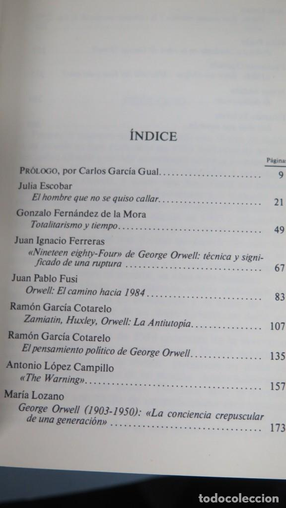Libros de segunda mano: ORWELL: 1984. REFLEXIONES DESDE 1984 - Foto 2 - 194901453