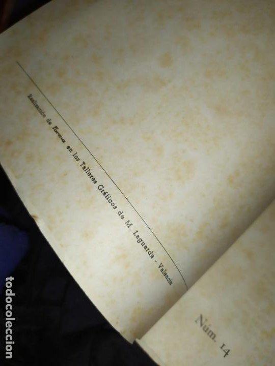 Libros de segunda mano: BOLETÍN DEL ILUSTRE COLEGIO DE ABOGADOS DE VALENCIA N° 14 JUNIO 1957 ÚNICO? - Foto 4 - 194901470