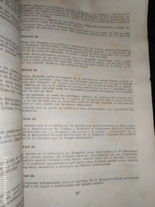 Libros de segunda mano: BOLETÍN DEL ILUSTRE COLEGIO DE ABOGADOS DE VALENCIA N° 14 JUNIO 1957 ÚNICO? - Foto 5 - 194901470