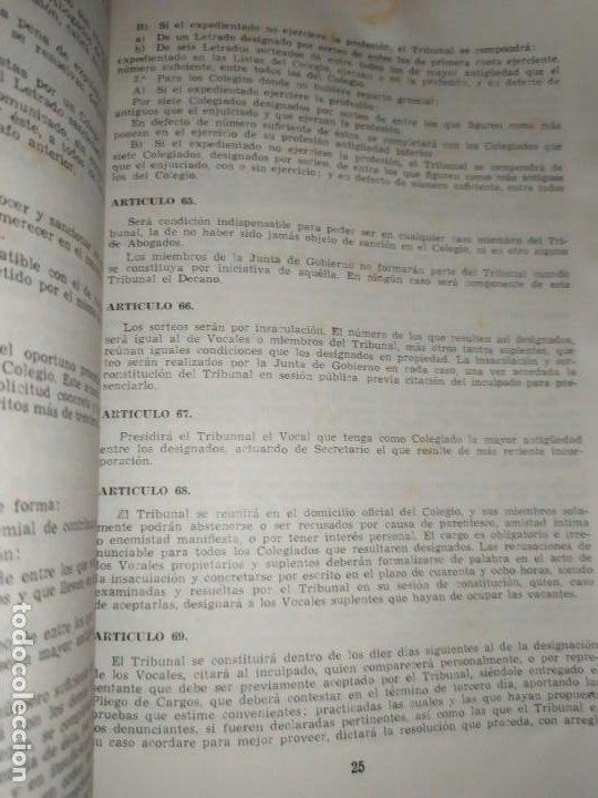 Libros de segunda mano: BOLETÍN DEL ILUSTRE COLEGIO DE ABOGADOS DE VALENCIA N° 14 JUNIO 1957 ÚNICO? - Foto 9 - 194901470