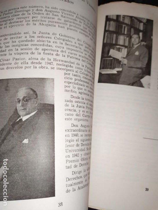 Libros de segunda mano: BOLETÍN DEL ILUSTRE COLEGIO DE ABOGADOS DE VALENCIA N° 14 JUNIO 1957 ÚNICO? - Foto 12 - 194901470