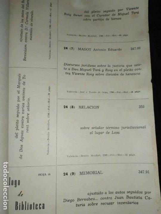 Libros de segunda mano: BOLETÍN DEL ILUSTRE COLEGIO DE ABOGADOS DE VALENCIA N° 14 JUNIO 1957 ÚNICO? - Foto 15 - 194901470