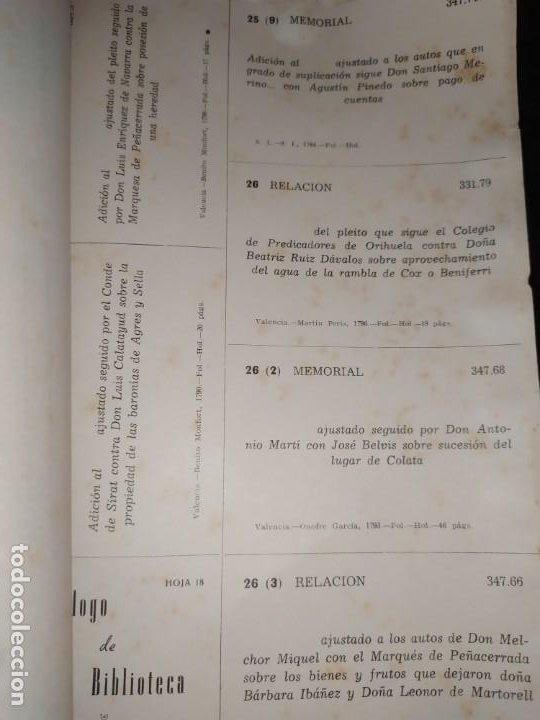 Libros de segunda mano: BOLETÍN DEL ILUSTRE COLEGIO DE ABOGADOS DE VALENCIA N° 14 JUNIO 1957 ÚNICO? - Foto 16 - 194901470