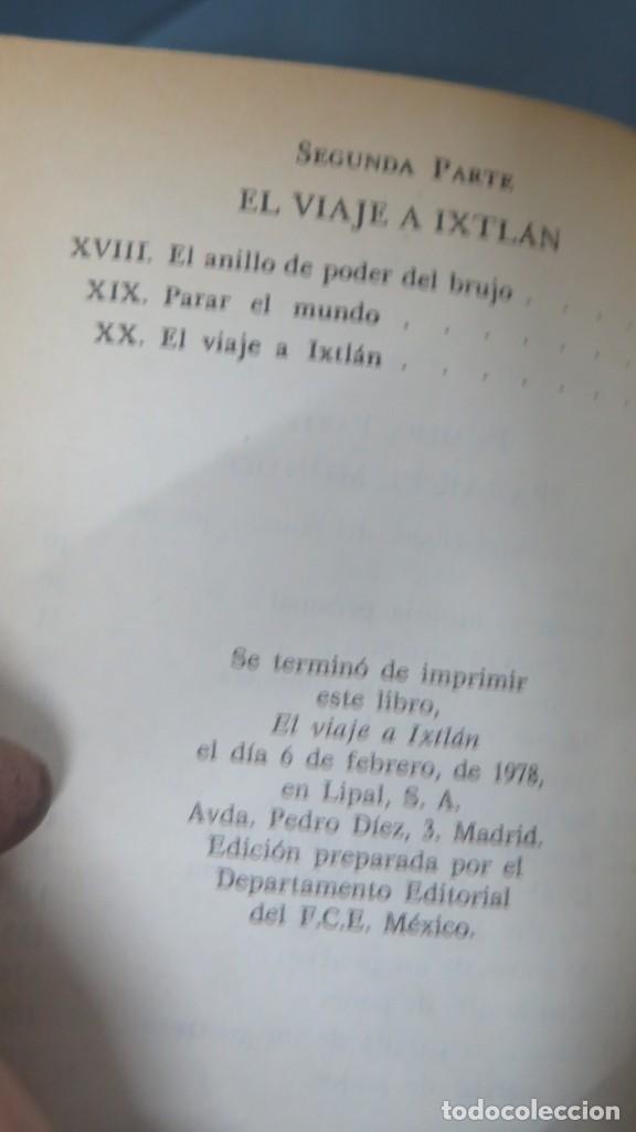 Libros de segunda mano: VIAJE A IXTIAN. CASTANEDA - Foto 3 - 194901571