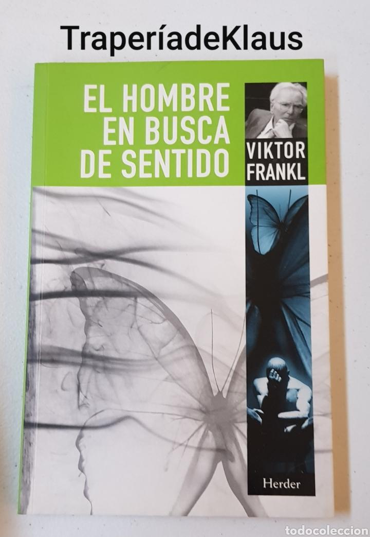 EL HOMBRE EN BUSCA DE SENTIDO VIKTOR FRANKL - TDK129 (Libros de Segunda Mano - Pensamiento - Otros)