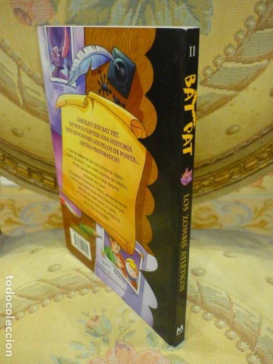 Libros de segunda mano: BAT PAT Nº 11: LOS ZOMBIS ATLÉTICOS, DE ROBERTO PAVANELLO. MONTENA 2.010. - Foto 2 - 194901962