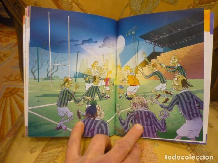 Libros de segunda mano: BAT PAT Nº 11: LOS ZOMBIS ATLÉTICOS, DE ROBERTO PAVANELLO. MONTENA 2.010. - Foto 5 - 194901962