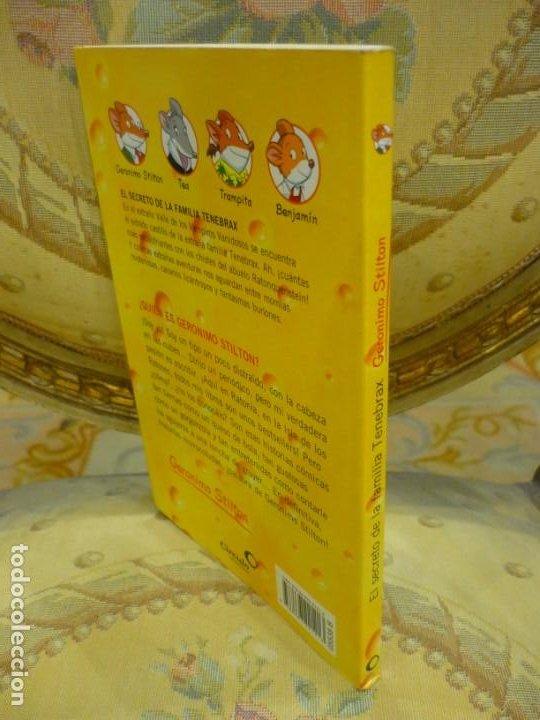 Libros de segunda mano: COLECCIÓN HUMOR Y TERROR: EL SECRETO DE LA FAMILIA TENEBRAX, DE GERONIMO STILTON. - Foto 2 - 194903090