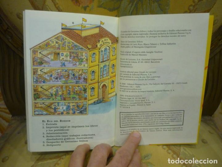 Libros de segunda mano: COLECCIÓN HUMOR Y TERROR: EL SECRETO DE LA FAMILIA TENEBRAX, DE GERONIMO STILTON. - Foto 5 - 194903090