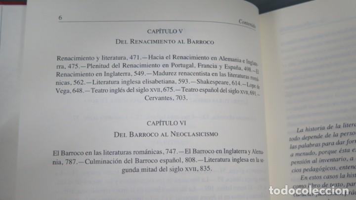 Libros de segunda mano: HISTORIA DE LA LITERATURA UNIVERSAL. MARTIN DE RIQUER. JOSE MARIA VALVERDE. 2 TOMOS. GREDOS - Foto 3 - 194903283