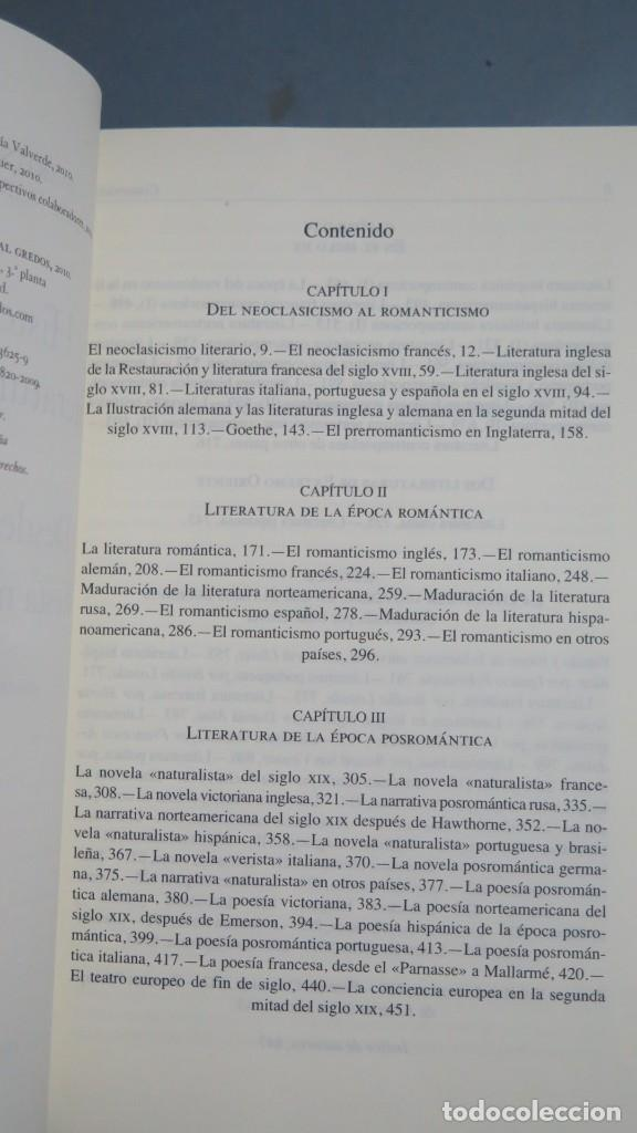 Libros de segunda mano: HISTORIA DE LA LITERATURA UNIVERSAL. MARTIN DE RIQUER. JOSE MARIA VALVERDE. 2 TOMOS. GREDOS - Foto 4 - 194903283