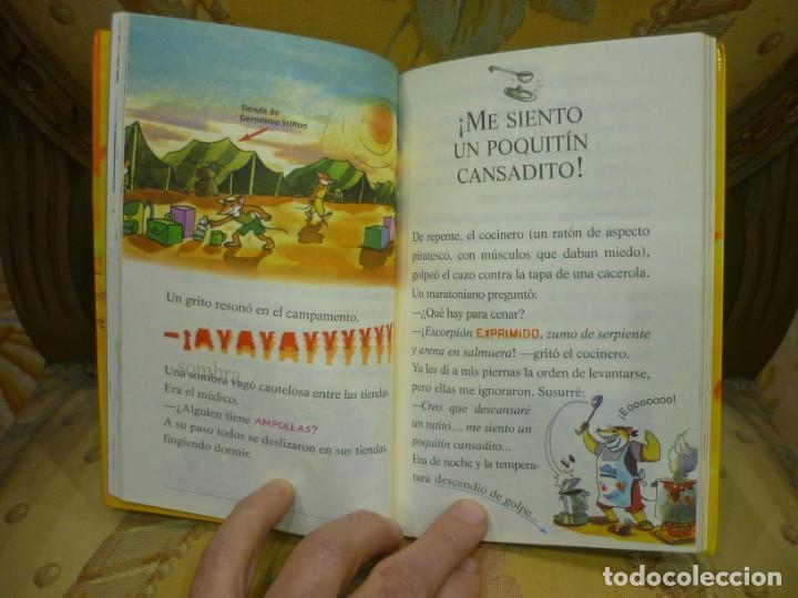 Libros de segunda mano: COLECCIÓN HUMOR Y AVENTURAS Nº 23: ¡TONTORRATÓN QUIEN LLEGUE EL ÚLTIMO!, DE GERONIMO STILTON. - Foto 5 - 194903313
