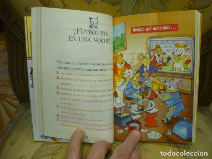 Libros de segunda mano: COLECCIÓN HUMOR Y MISTERIO Nº 35: ¡UN SUPERRATÓNICO DÍA...DE CAMPEONATO!, DE GERONIMO STILTON. - Foto 5 - 194903561