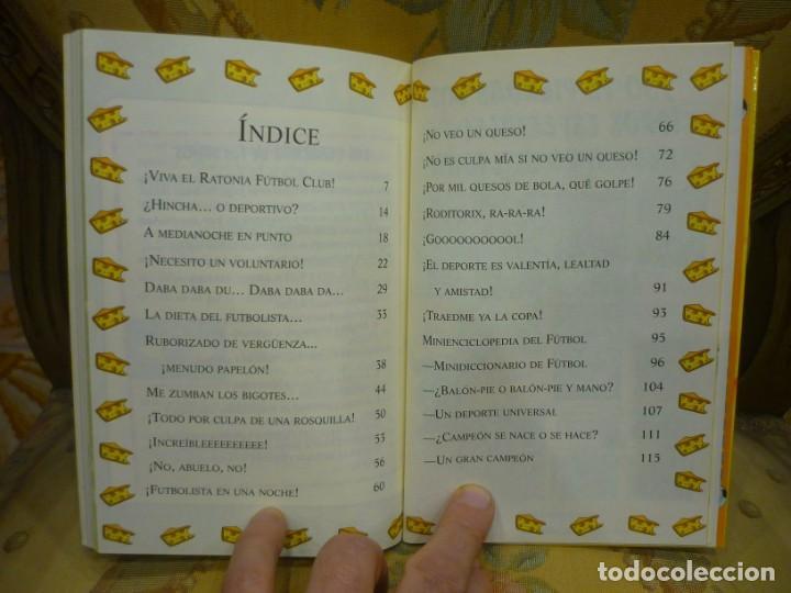 Libros de segunda mano: COLECCIÓN HUMOR Y MISTERIO Nº 35: ¡UN SUPERRATÓNICO DÍA...DE CAMPEONATO!, DE GERONIMO STILTON. - Foto 6 - 194903561
