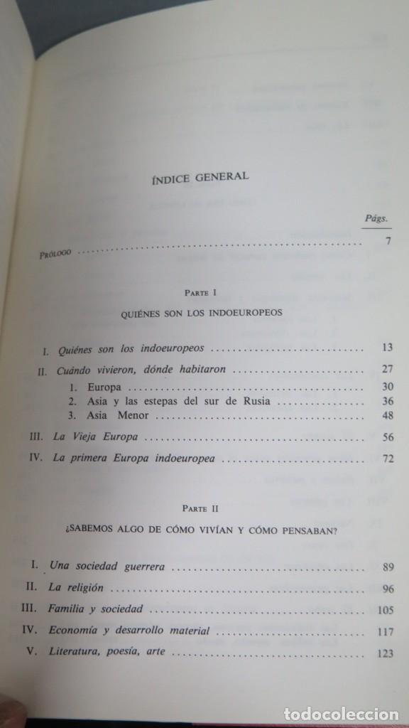 Libros de segunda mano: LOS INDOEUROPEOS Y LOS ORIGENES DE EUROPA. FRANCISCO VILLAR - Foto 3 - 194903605