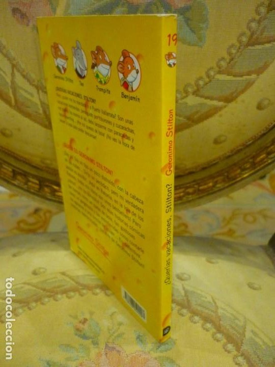Libros de segunda mano: COLECCIÓN HUMOR Y AVENTURA Nº 19: ¿QUERÍAS VACACIONES, STILTON?, DE GERONIMO STILTON. - Foto 2 - 194903866