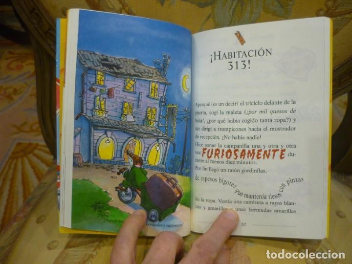 Libros de segunda mano: COLECCIÓN HUMOR Y AVENTURA Nº 19: ¿QUERÍAS VACACIONES, STILTON?, DE GERONIMO STILTON. - Foto 5 - 194903866