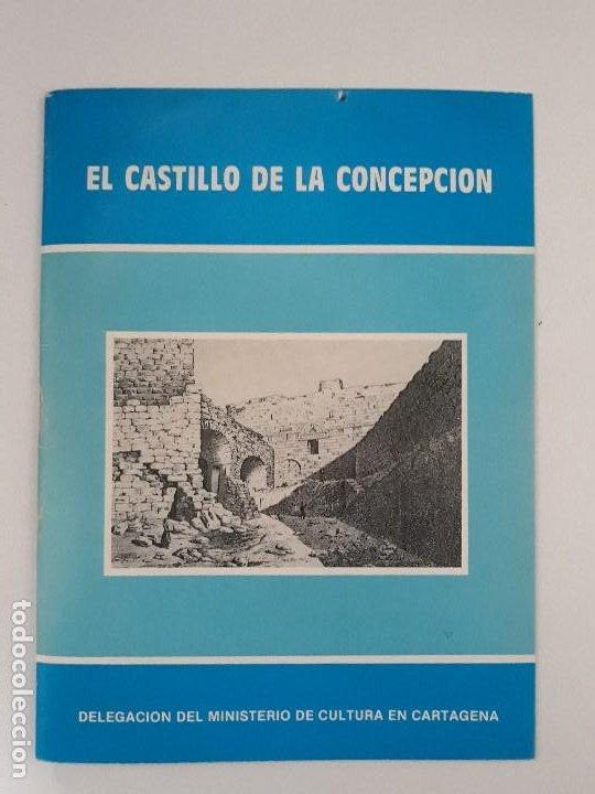EL CASTILLO DE LA CONCEPCION. (PROLOGO) CARLOS FERRANDIZ ARAUJO. CARTAGENA, 1982 (Libros de Segunda Mano - Historia - Otros)