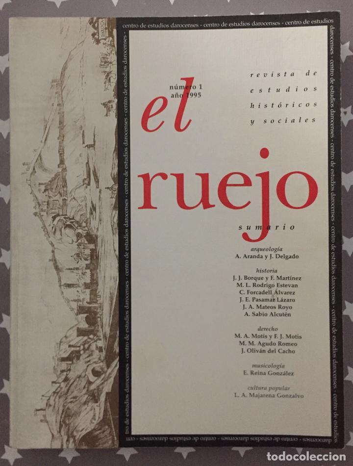 EL RUEJO REVISTA DE ESTUDIOS HISTORICOS Y SOCIALES, NUMERO 1 (Libros de Segunda Mano - Historia - Otros)