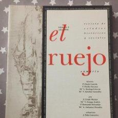 Libros de segunda mano: EL RUEJO, REVISTA DE ESTUDIOS HISTORICOS Y SOCIALES, NUMERO IV 1998. Lote 194905637