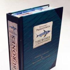Libros de segunda mano: LIBRO DESPLEGABLE POP-UP - ENCICLOPEDIA PREHISTÓRICA, TIBURONES Y OTROS MONSTRUOS MARINOS - MONTENA. Lote 194906235