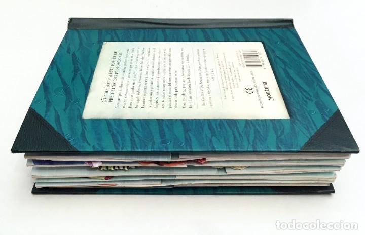 Libros de segunda mano: LIBRO DESPLEGABLE POP-UP - ENCICLOPEDIA PREHISTÓRICA, TIBURONES Y OTROS MONSTRUOS MARINOS - MONTENA - Foto 5 - 194906235