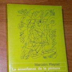 Libros de segunda mano: MARCELIN PLEYNET - LA ENSEÑANZA DE LA PINTURA. ENSAYOS - GUSTAVO GILI, 1978. Lote 194898177