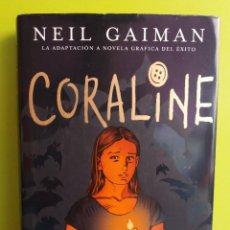 Libros de segunda mano: CORALINE - NEIL GAIMAN. Lote 194910852