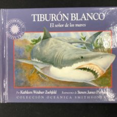Libros de segunda mano: TIBURON BLANCO, EL SEÑOR DE LOS MARES - K. WEIDNER ZOEHFELD - EDIMAT 2001. Lote 194919386