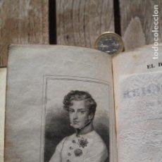 Libros de segunda mano: EL DUQUE DE REICHSTAD, NAPOLEÓN, EL HIJO, MONTBEL. BARCELONA 1833. Lote 194924105