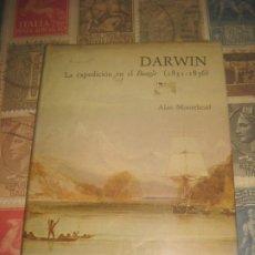 Libros de segunda mano: DARWIN.LA EXPEDICIÓN EN EL BEAGLE ( 1831-1836 ) EDITADO CIRCULO DE LECTORES. Lote 194924128