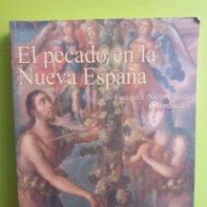 Libros de segunda mano: EL PECADO EN LA NUEVA ESPAÑA. Lote 194925706