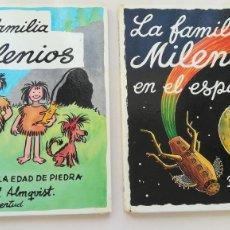 Libros de segunda mano: LA FAMILIA MILENIOS 2 TOMOS (1 Y 4) PRIMERA EDICION ED. JUVENTUD 1975. Lote 194926247