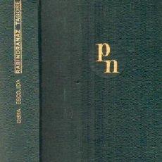 Libros de segunda mano: OBRA ESCOGIDA. TAGORE, RABINDRANAZ. A-AGUI-967. Lote 194930053