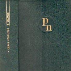 Libros de segunda mano: OBRAS COMPLETAS. CAMUS, A. A-AGUI-968. Lote 194930137
