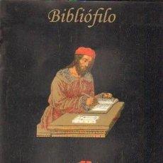 Libros de segunda mano: TITULO BIBLIÓFILO. REVISTA DE BIBLIOFILIA Y COLECCIONISMO. AÑO 2011, NUMERO 1. A-BIBLIO-144. Lote 194936033