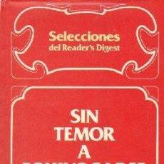 Libros de segunda mano: SIN TEMOR A EQUIVOCARSE. MANUAL DE BUENOS MODALES. A-EDMUNDO-067. Lote 194936273