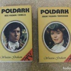 Libros de segunda mano: POLDARK TOMO 1 Y 2 WINSTON GRAHAM. Lote 194937627