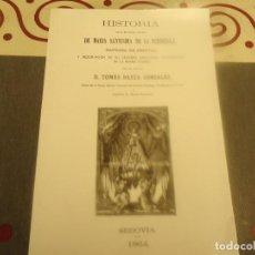 Libros de segunda mano: HISTORIA DE MARIA SANTISIMA DE LA FUENCISLA. Lote 194938033